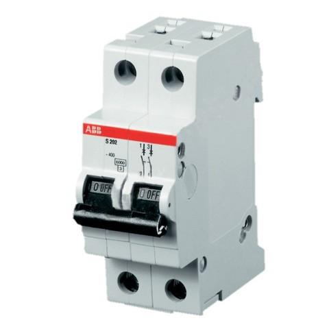 Автоматич.выкл-ль 2-полюсный S202 B6