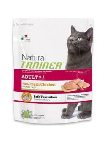 Trainer Сухой Корм Natural Adult Fresh Chicken для взрослых кошек со свежим мясом курицы 1,5 кг.