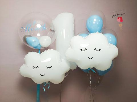 Набор воздушных шаров на годик