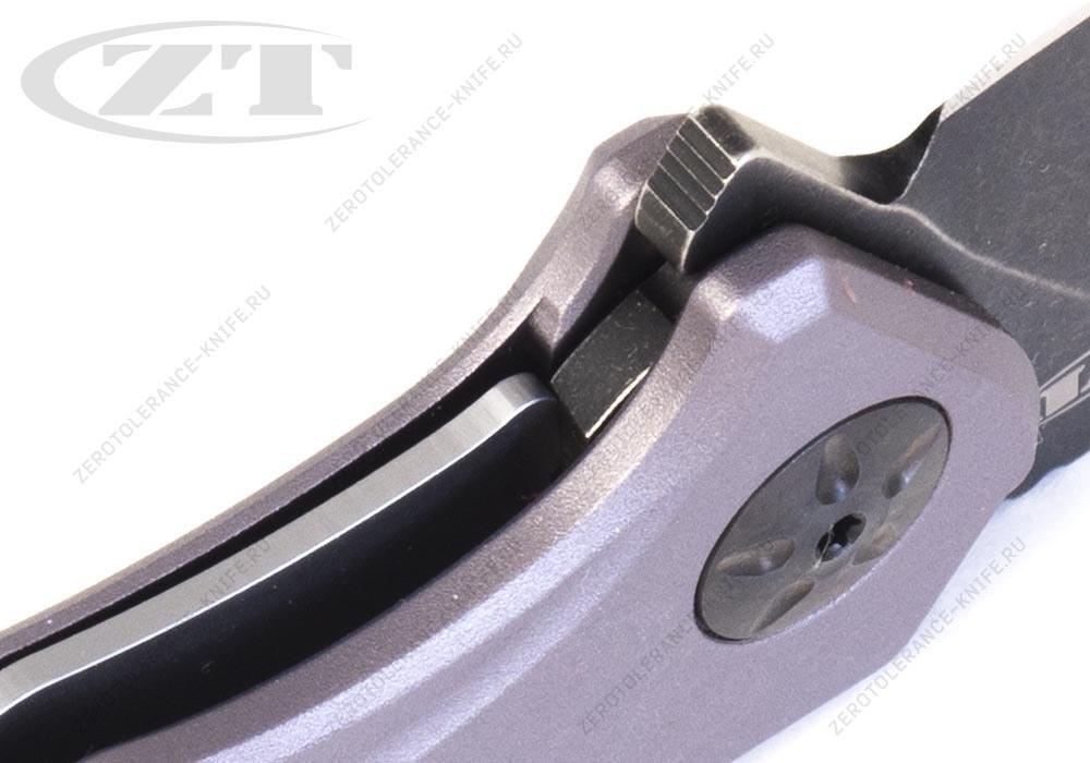 Нож Zero Tolerance 0770GRYBW First 10 - фотография