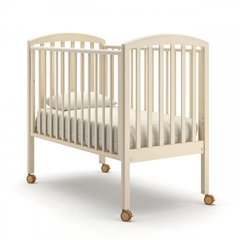 Кровать детская Дени без ящика слоновая кость