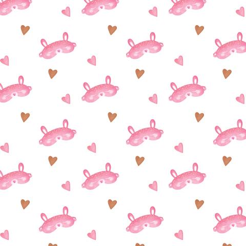 Сладкие сны, розовый зайка