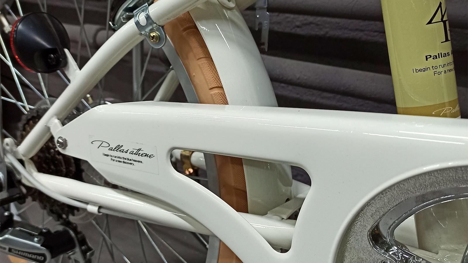 Заднее колесо и цепь городского складного велосипеда