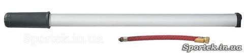 Ручний велосипедний насос (довжина 40 і діаметр 2.5 см) з алюмінієвим корпусом