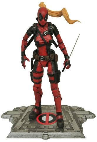 Марвел Селект фигурка Леди Дэдпул — Marvel Select Lady Deadpool