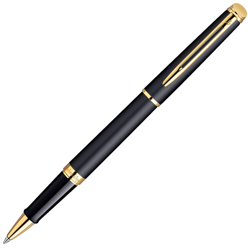 Waterman Hemisphere - Matt Black GT, ручка-роллер, F, BL