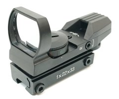 Коллиматорный прицел Target Sight 1x33 11mm