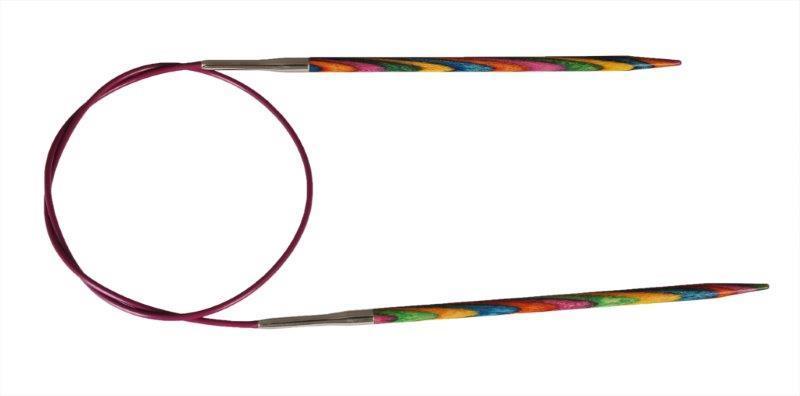 Спицы KnitPro Symfonie  5,0 мм /80 см 21339