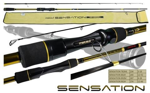 Спиннинг Metsui Sensation 802H 12-52 г.