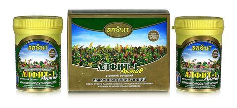 Чай Алфит-Актив № 1 иммуномоделирующий, 60 бр. (Гален)