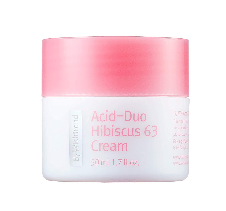 Крем для лица By Wishtrend Acid-Duo Hibiscus 63 Cream 50 мл