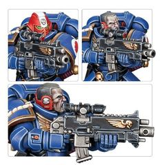 Миниатюра Primaris Intercessor Veteran Sergeant, детали