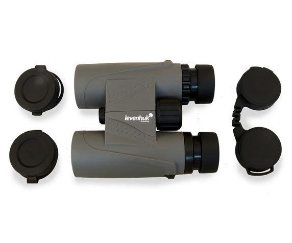 Защитные крышки объективов и окуляров бинокля Levenhuk Karma Plus 12x32
