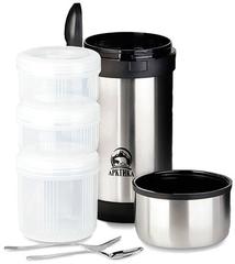 Термос с контейнерами для еды Арктика 403-1500