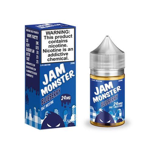 Жидкость Jam Monster SALT 30 мл Blueberry
