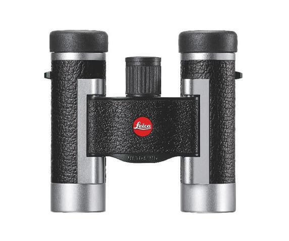 Бинокль Leica SilverLine 8x20, кожа, серебристый корпус - фото 1