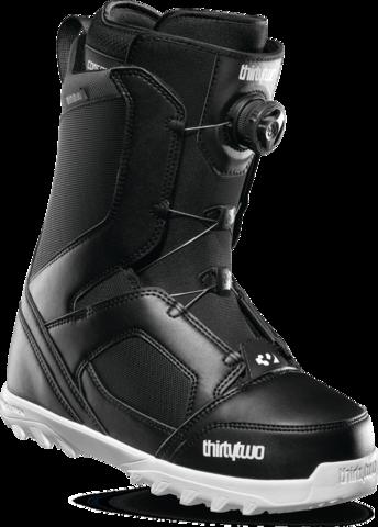 Ботинки сноубордические Thirtytwo Stw Boa - black