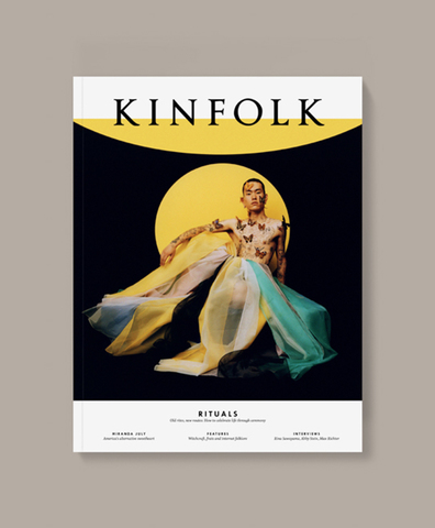 Журнал Kinfolk vol.38 английский