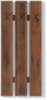 Индиана JWIE60 Вешалка (дуб шуттер)