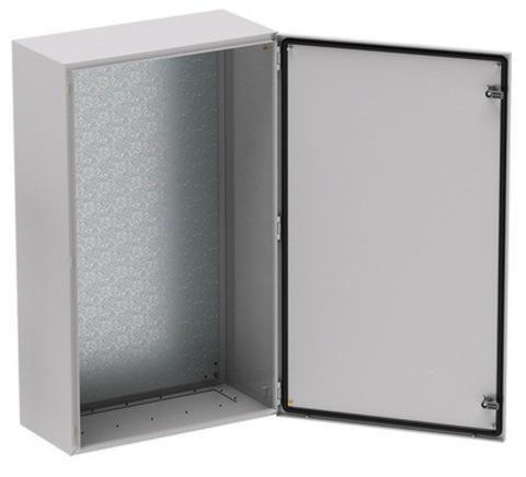 Корпус сварной навесной серии  ST  с М/П Размер: 800 x 600 x 250 мм (В х Ш х Г)