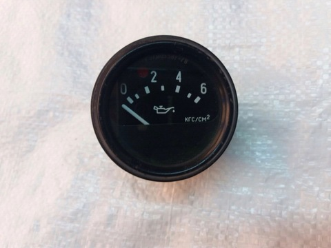 Указатель давления масла УАЗ 452 469 (от 0 до 6 кг/см2)