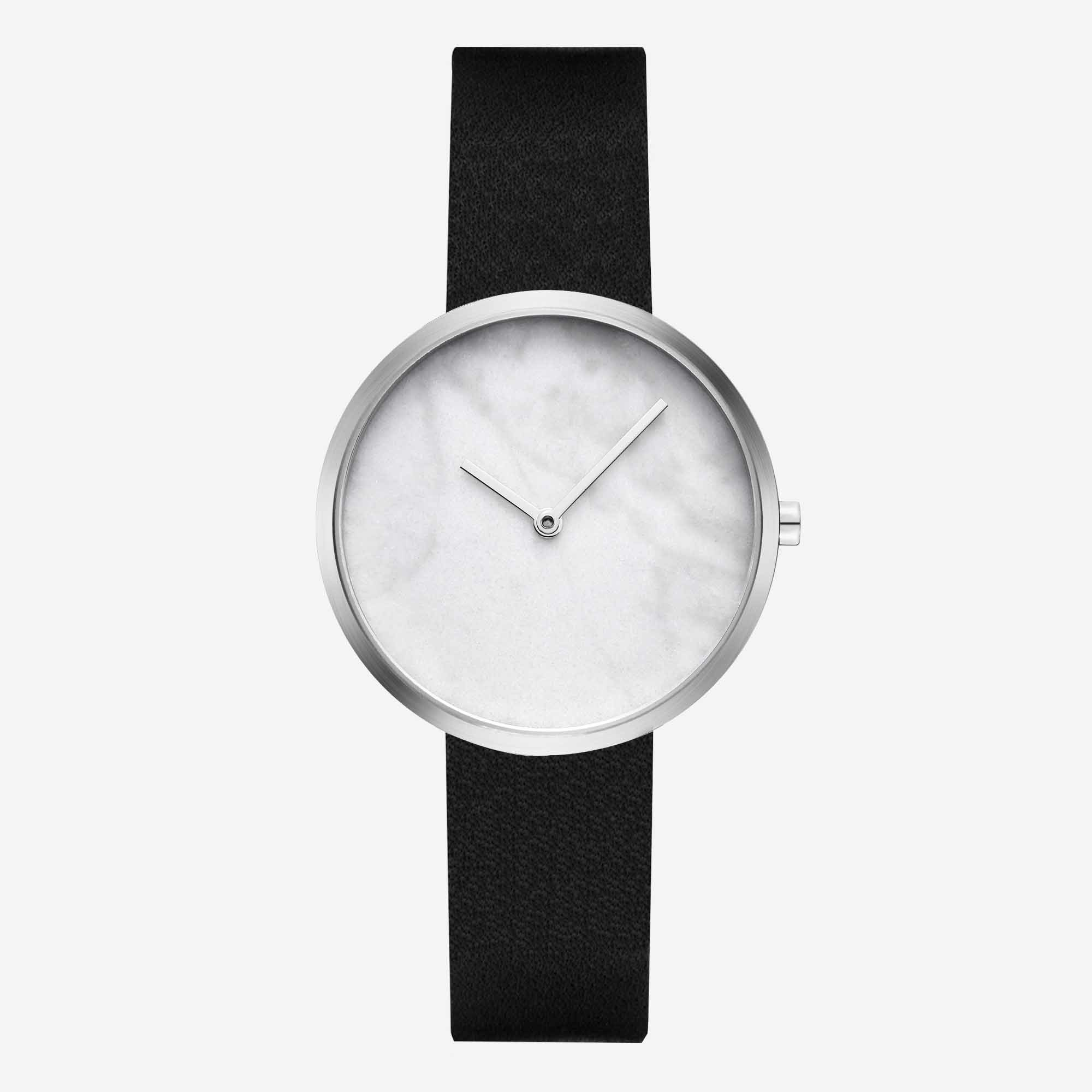 Часы Maven Outline Silver Black 34mm