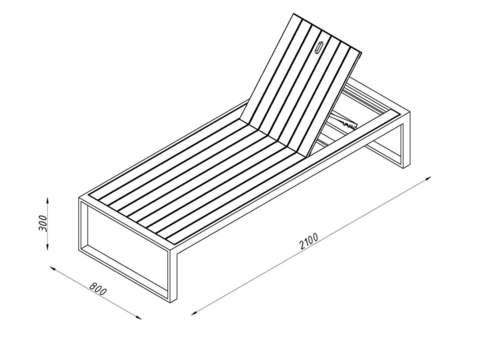 Deck chair OUTDOOR