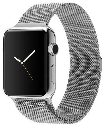 Ремешок из нержавеющей стали COTEetCI W6 MAGNET Band (WH5203-TS) для Apple Watch 44мм/ 42мм Серебристый