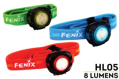 Фонарь светодиодный налобный Fenix HL05 (8 лм, 2-CR2032)
