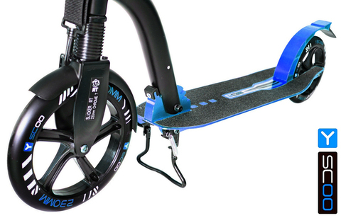 Двухколесный самокат Y-scoo RT 230 Slicker Deluxe New Technology с амортизатором