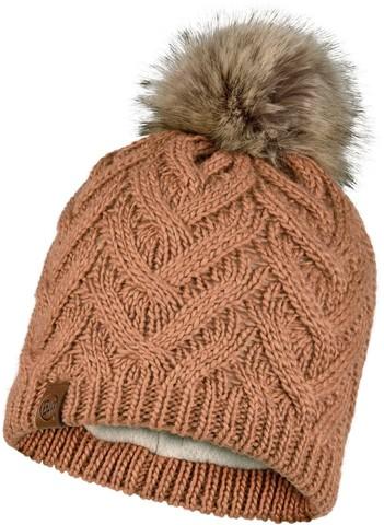Шапка вязаная с флисом Buff Hat Knitted Polar Caryn Rosewood фото 1