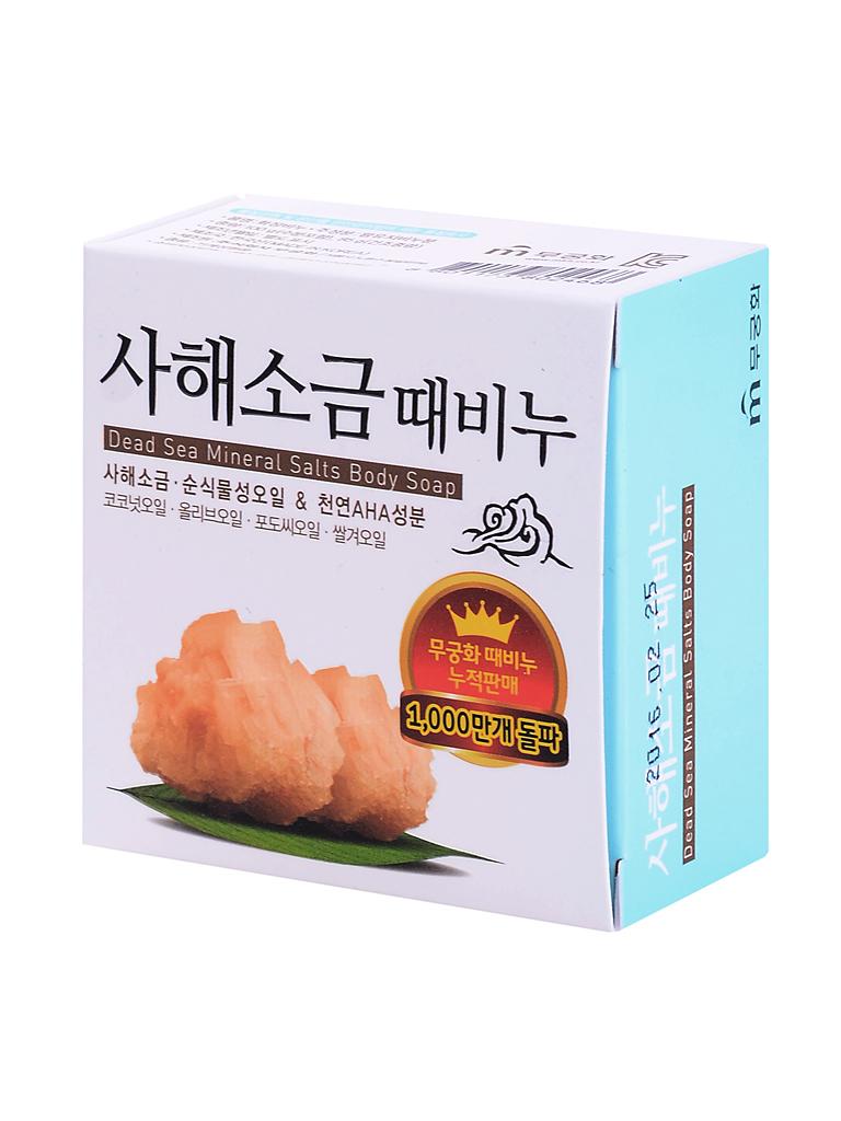 Mukunghwa Мыло для лица с минералами мертвого моря Dead Sea Mineral Salts Body Soap i26507_1484773954_5.jpg