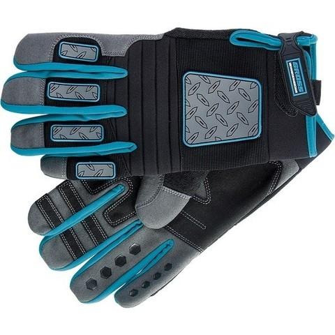 Перчатки универсальные комбинированные DeLuxe, XL Gross