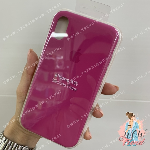 Чехол iPhone XR Silicone Case /dragon fruit/