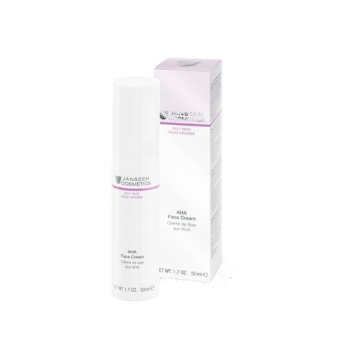 JANSSEN | Лёгкий активный крем с фруктовыми кислотами / AHA Face Cream, (50 мл)