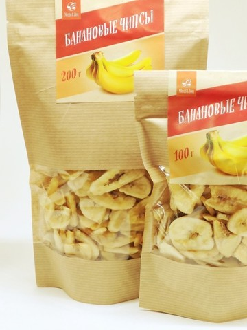 Банановые чипсы, 200 г