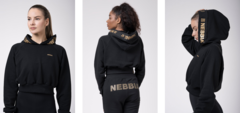 Укороченная толстовка Nebbia 824 Golden Cropped Hoodie