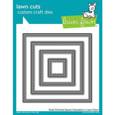 Нож для вырубки геометрический квадрат - Lawn Cuts Custom Craft Dies - Lawn Fawn