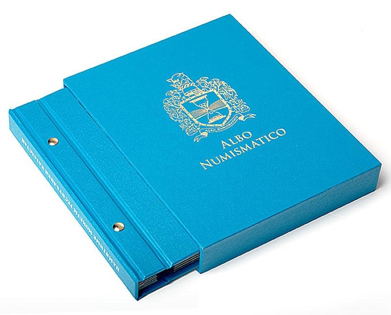 Футляр для альбомов толщиной 30 мм, цвет «Голубой»