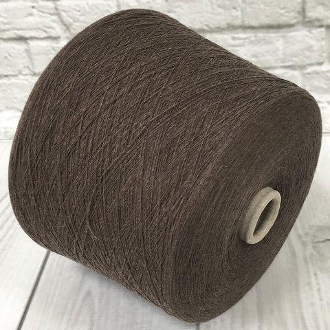 Смесовка с кашемиром (10%) NEW MILL VELOX 1/1450 коричневый