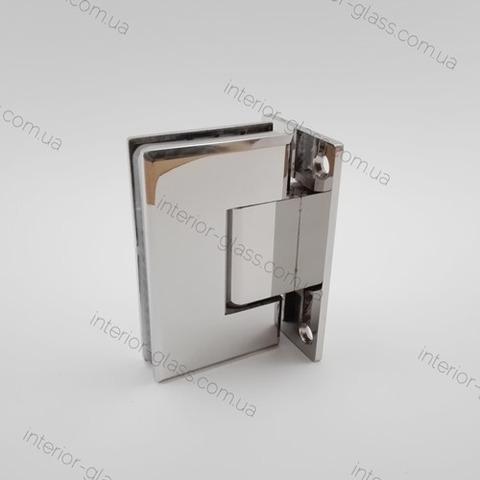 Петля душевая стена-стекло HDL-301 CP полированный хром