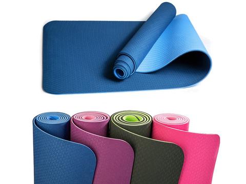 Коврик для йоги и фитнеса: TPE-6