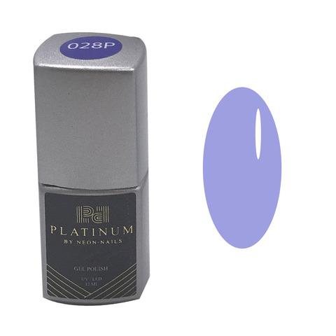 Гель-лак голубого цвета PLATINUM