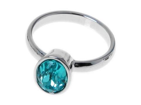 Кольцо с серебрением Канопус
