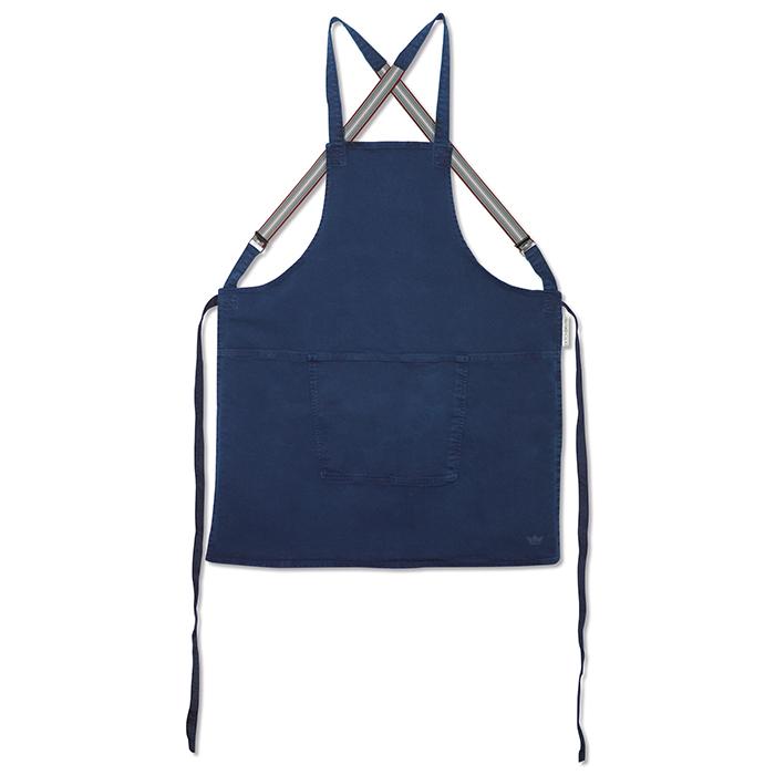 Фартук с подтяжками Suspender, хлопок, Темно-синий, арт. 552205 - фото 1