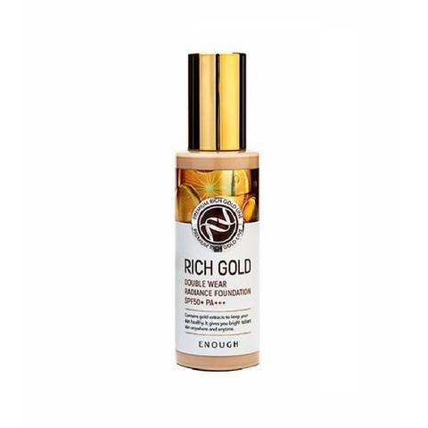 Enough Rich Gold Double Wear Radiance Foundation Spf50+ Pa+++ тональная основа с золотом для сияния кожи 13 светлый беж