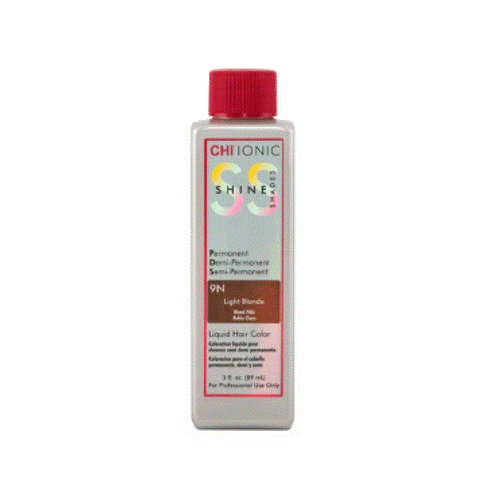 Жидкая краска CHI Ionic Shine Shades Liquid Color 9N - LIGHT BLONDE