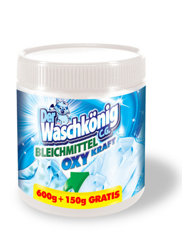 Отбеливатель Der Waschkönig C.G.  Bleichmittel – oxygen bleach powder 750 гр