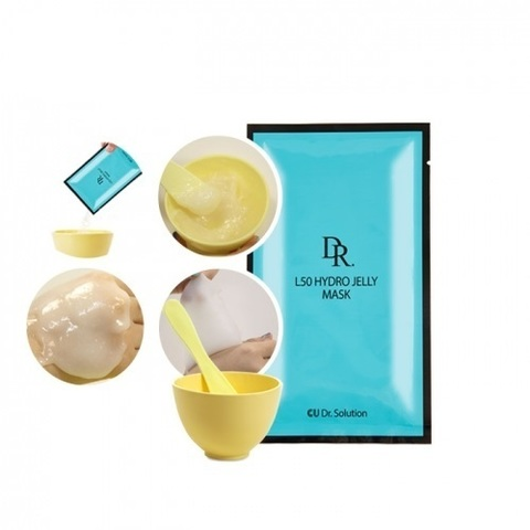 Купить CU SKIN CU: DR.SOLUTION L50 Hydro Jelly Mask - Альгинатная маска с витамином U