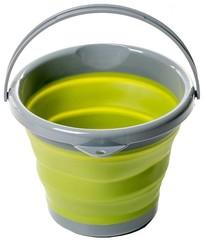 Ведро Tramp складное силиконовое 5л, оливковый